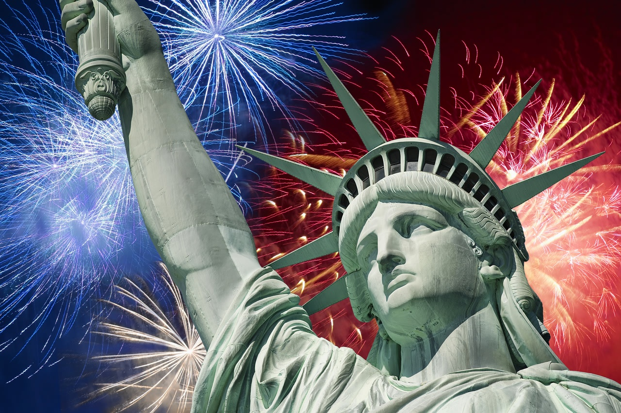 Independence day statue of liberty re opens on july 4th for Do they have a 4th of july in england